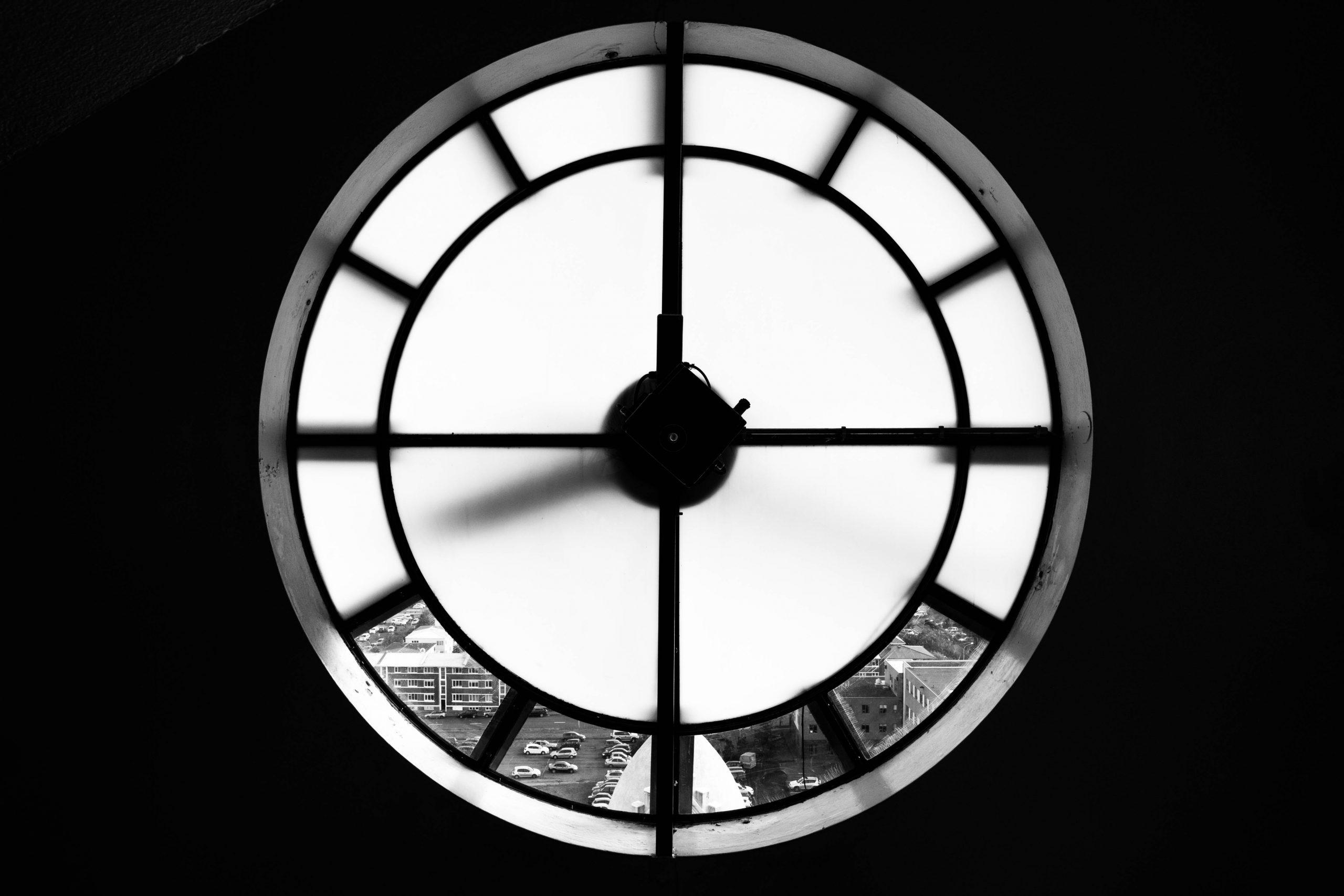 Clock window